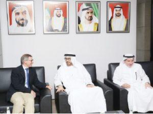 زار أكاديمية الإمارات الدبلوماسية