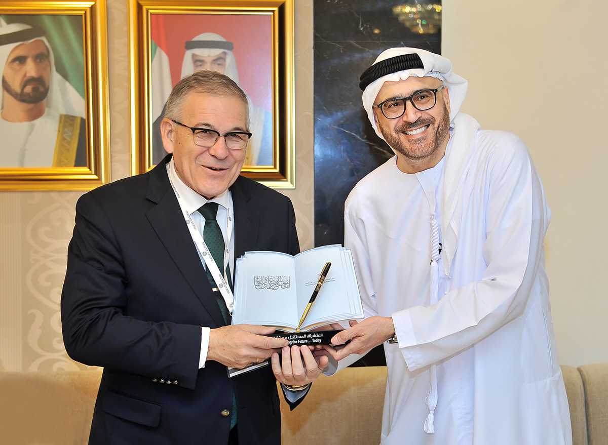 """Russian Ambassador Sergey N. Kuznetsov: """"Broad Prospects for Cooperation Between the UAE and Russia in a Variety of Fields.""""   Emirates Center for Strategic Studies and Research"""